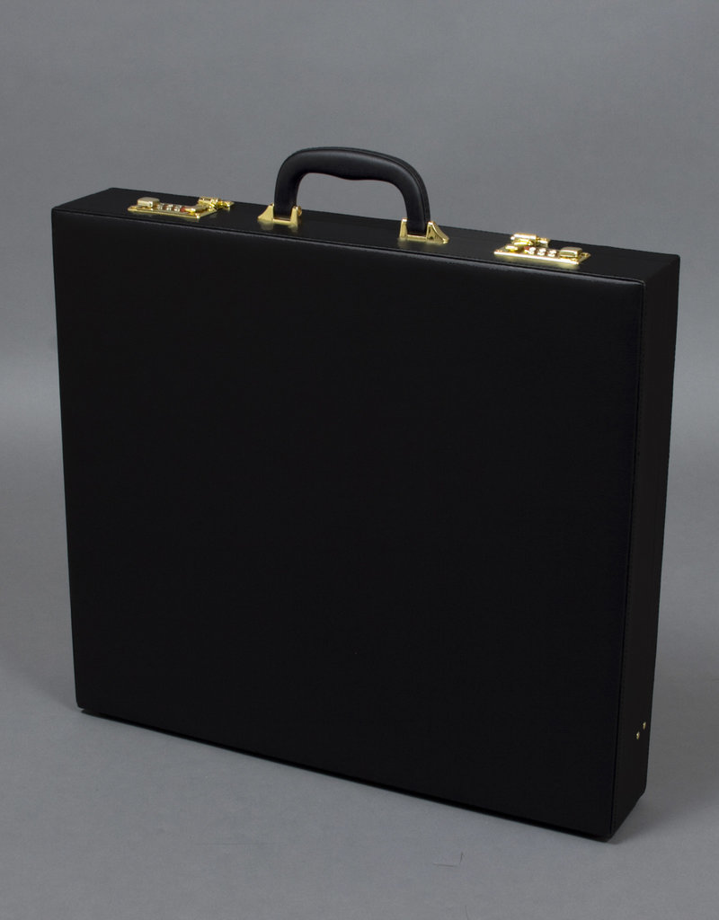 Attache Style Hard Black Case Metropolitan |Provincial |District
