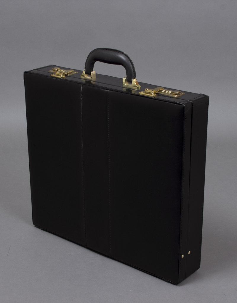 Master Masons Hard Case | Black Imitation Leather