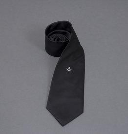 Masonic Black Square and Compass Tie | Woven