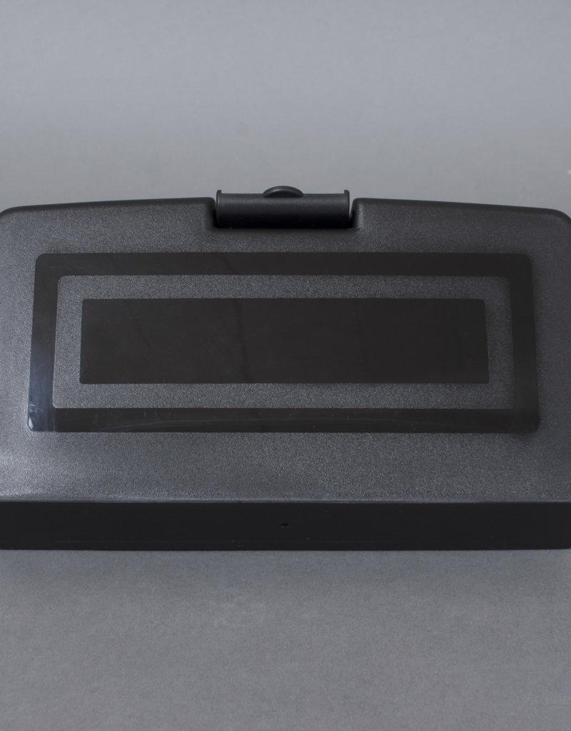 Masonic Jewel Holder with Solid Storage Case   Black