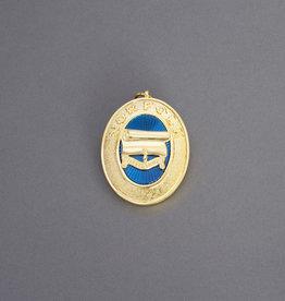 Craft Provincial Past Rank Collar Jewel   Gold & Hand Enameled