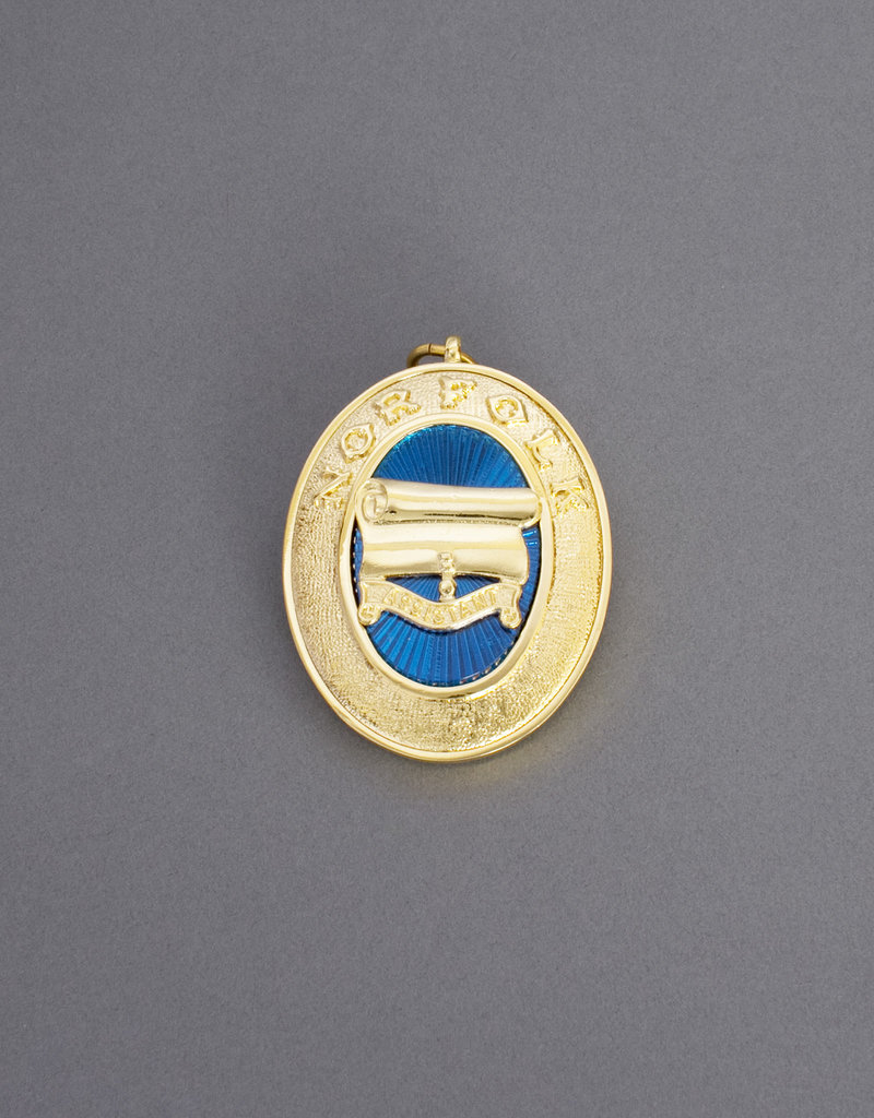 Craft Provincial Past Rank Collar Jewel | Gold & Hand Enameled
