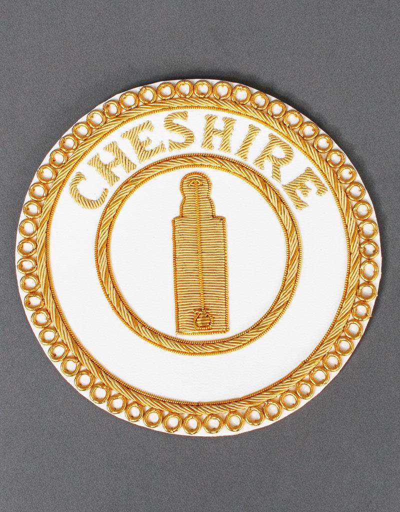 Masonic Provincial Full Dress Apron Badge | Hand Embroidered