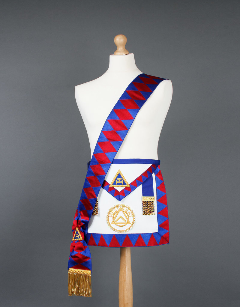 Royal Arch Provincial Apron And Sash | Lambskin