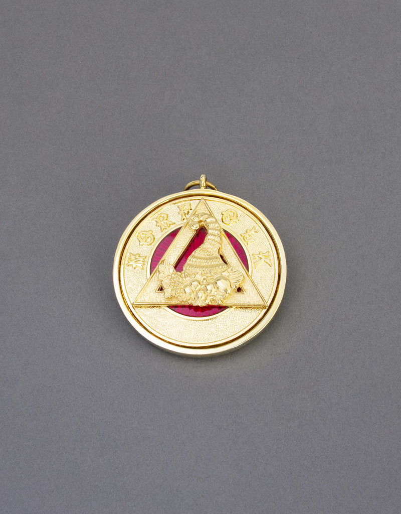 Royal Arch Provincial Past Rank Collar Jewel | Hand Enameled
