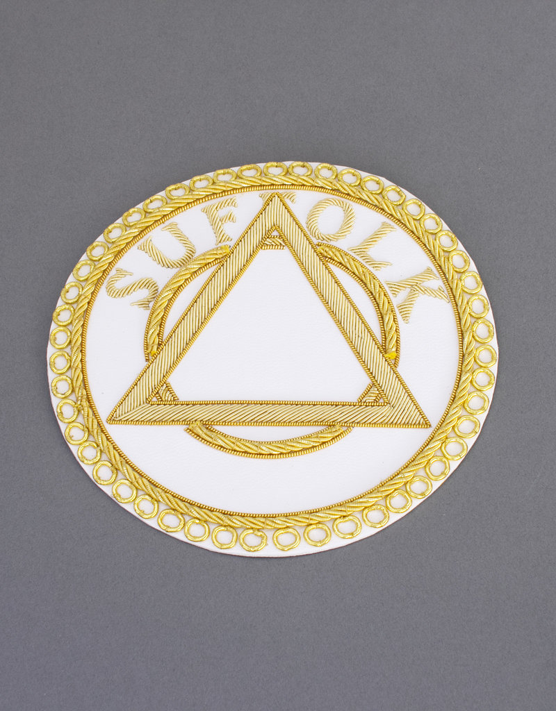 Royal Arch Provincial Apron Badge | Hand Embroidered
