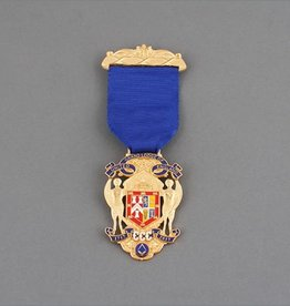 Tercentenary Breast Jewel | Gold Plated and Hand Enamelled