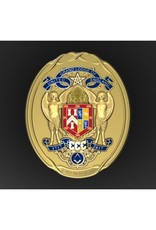 Tercentenary Master's Collar Ornament | Hallmarked Silver Gilt