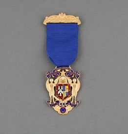 Tercentenary Commemorative Jewel | Gold Plated & Hand enamelled