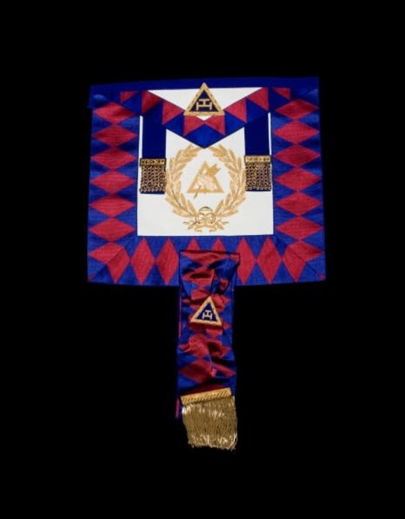 Royal Arch Grand Chapter Suit | Lambskin & Hand Embroidered