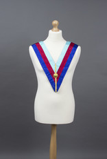 Royal Arch Grand Chapter Collar With Braid | Moire Ribbon