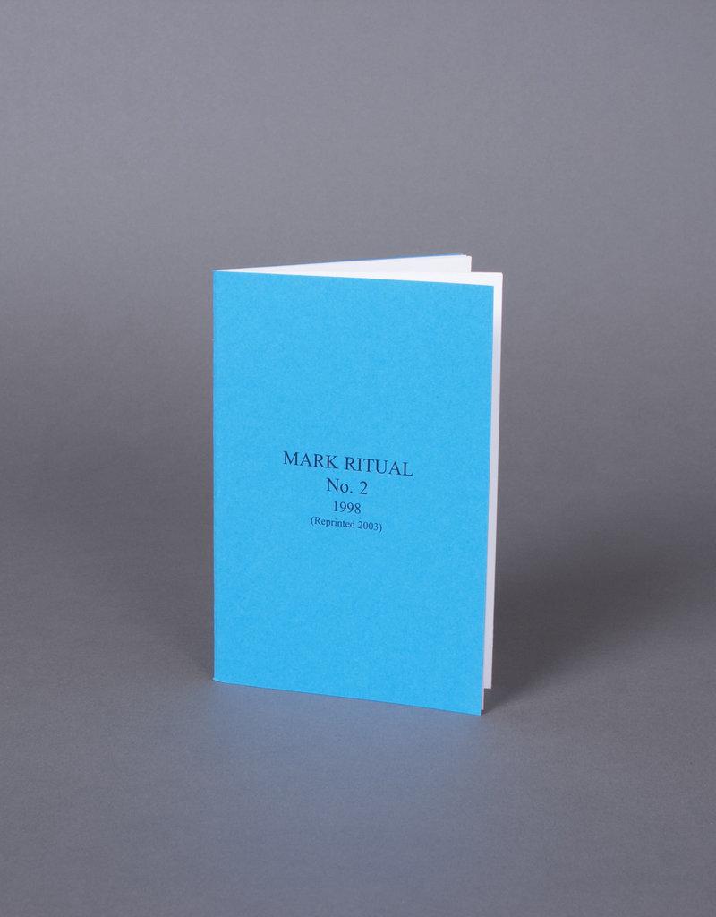 Mark No.2 Ritual Installation   Book