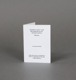 Emulation Passing Question Cards | Book