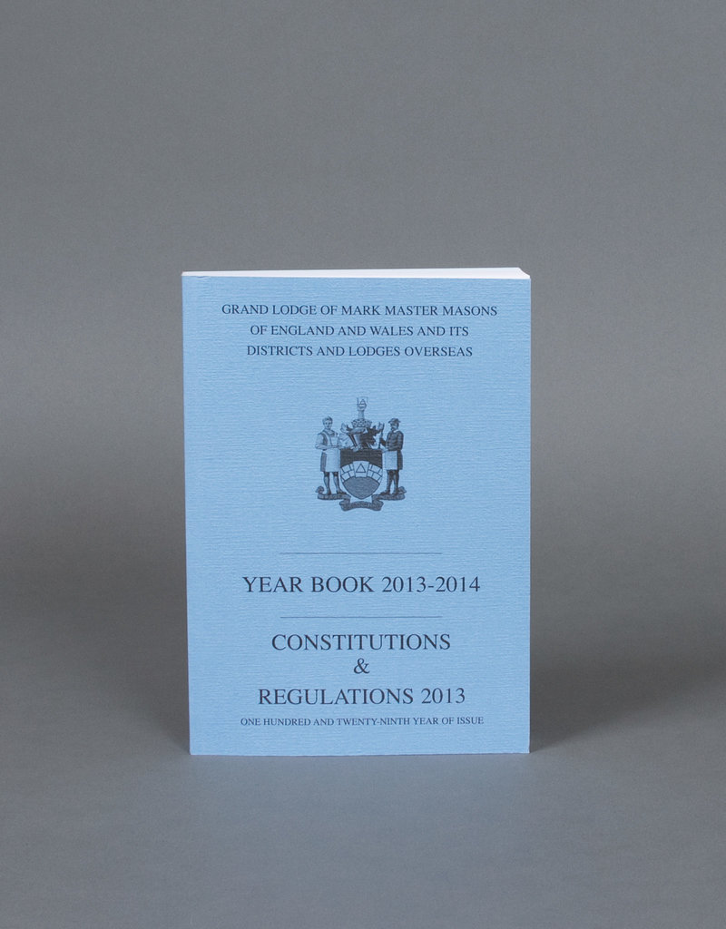 Mark Masons Combined Book of Constitutions and Yearbook
