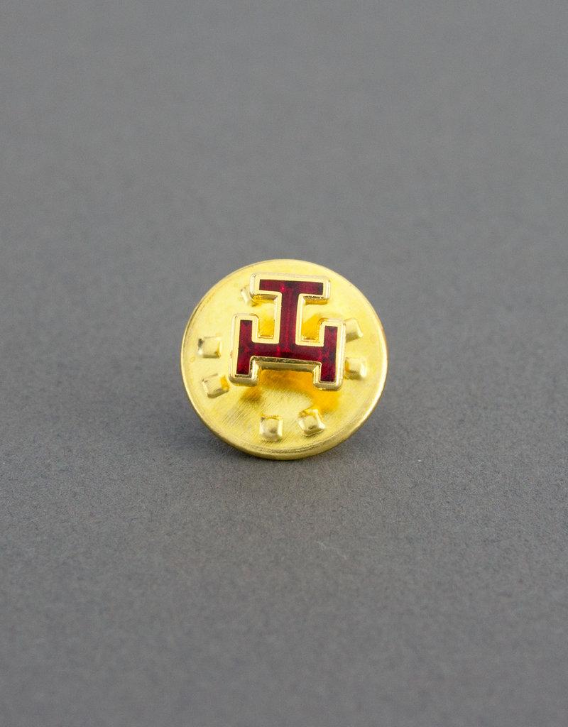 Royal Arch Lapel Pin Badge | Gold & Hand Enameled