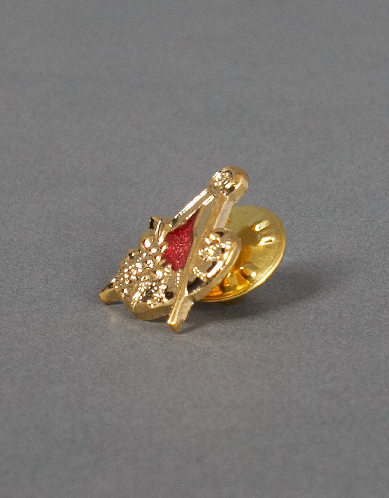 Craft Provincial Stewards Lapel Pin | Gold & Hand Enameled