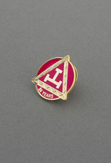 Royal Arch Fifty Years Service Lapel Pin | Hand Enameled