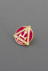 Royal Arch Sixty Years Service Lapel Pin | Hand Enameled