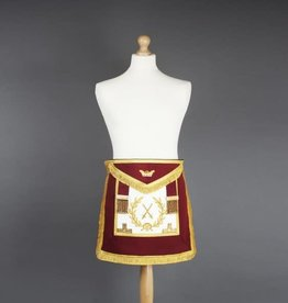 Athelstan Grand Rank Apron | Lambskin & Hand Embroidered