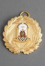 Athelstan Past Grand Rank Officer Collar Jewel | Gold