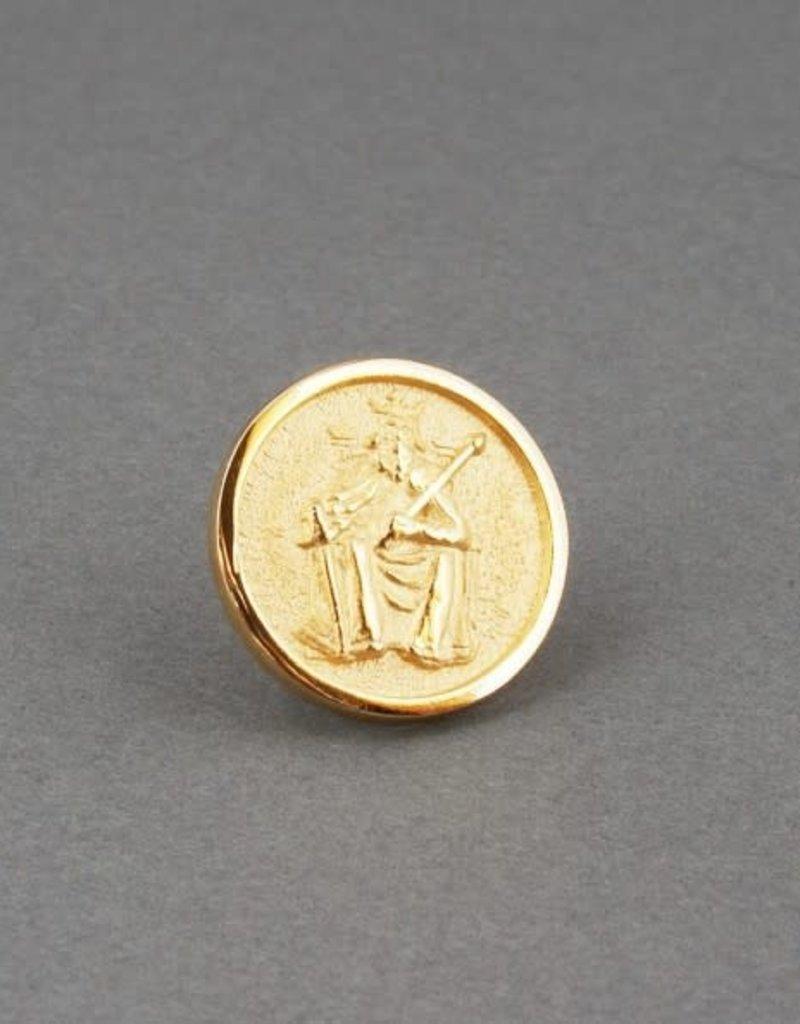 Athelstan Lapel Pin | Gold & Clutchback