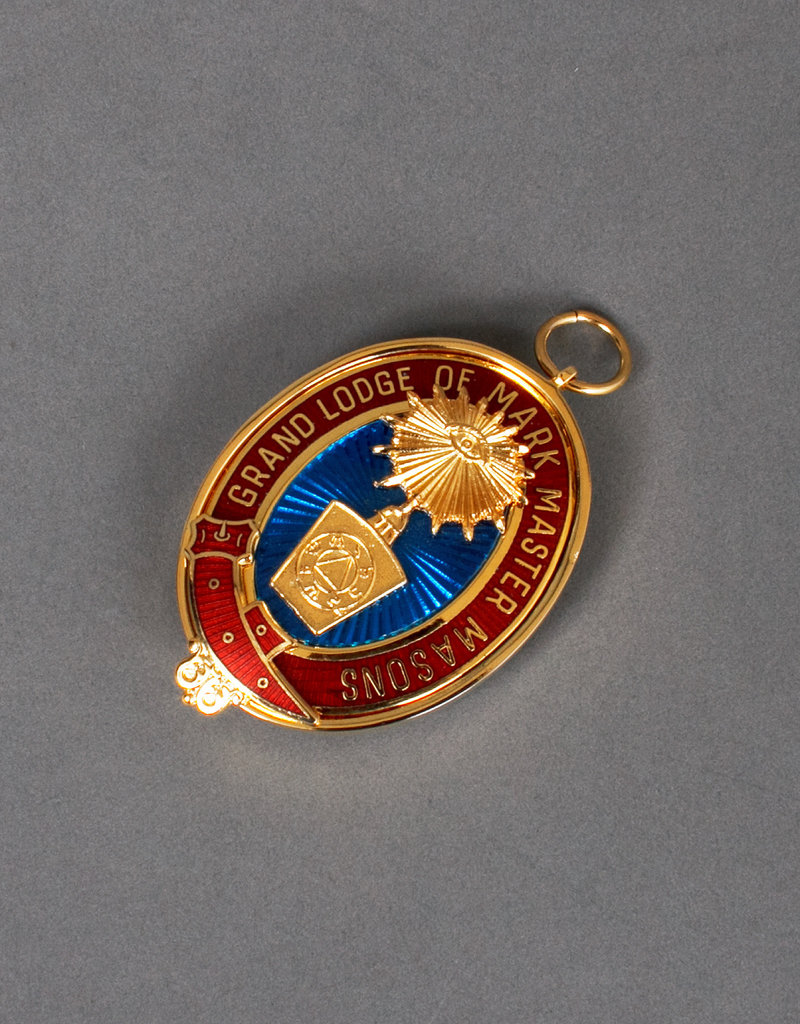 Mark Grand Past Rank Collar Jewel | Gold
