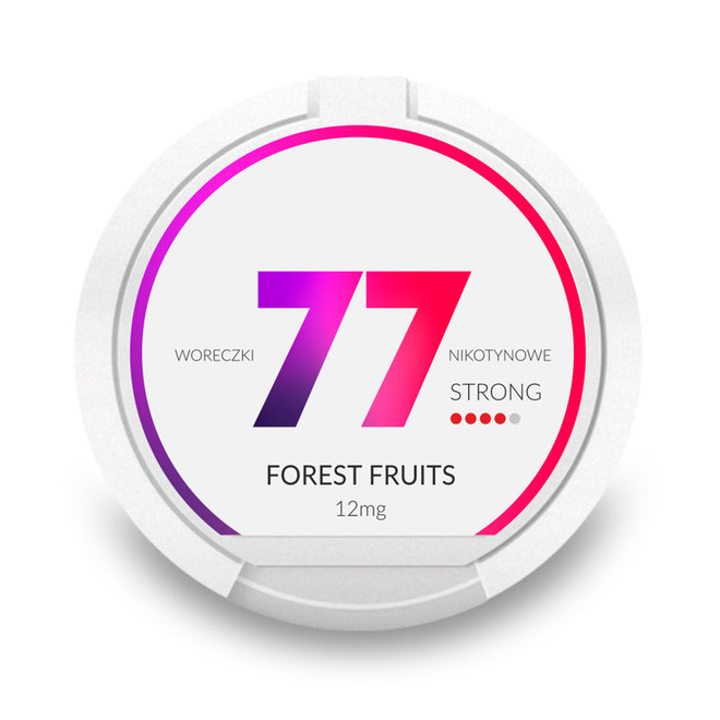 Forest Fruits Strong 12 mg/pouch