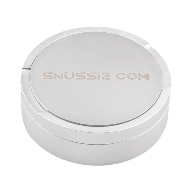 The Snussie Can - Shiny Silver