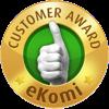 Customer award Ekomi