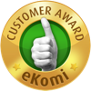 Customer award Ekomi