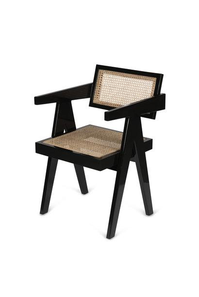 Office Chair Kohle schwarz Hochglanz