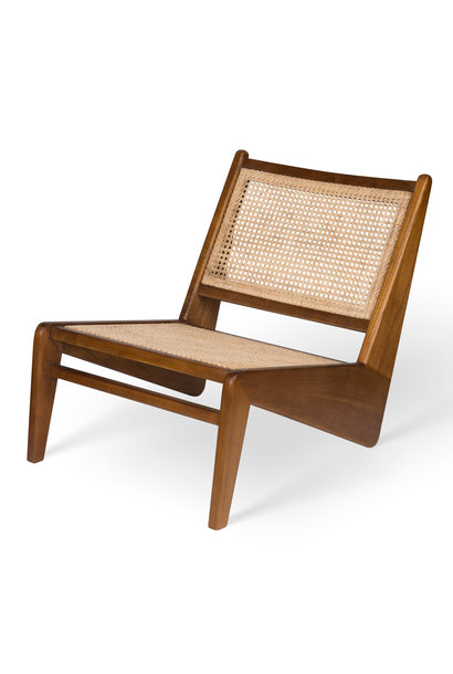 Kangaroo Chair-  Darkened Teak