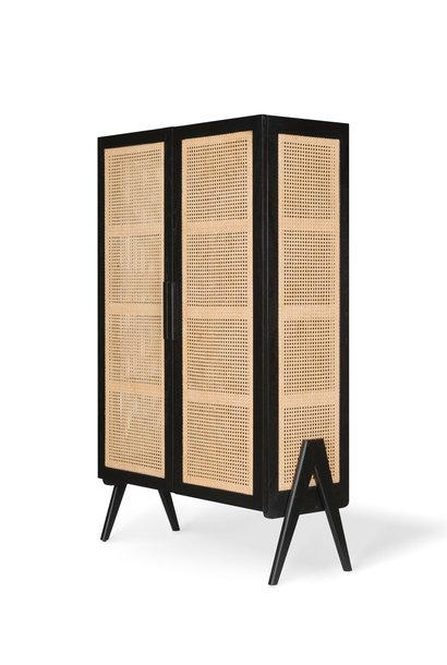 Storage Cabinet Kohle schwarz