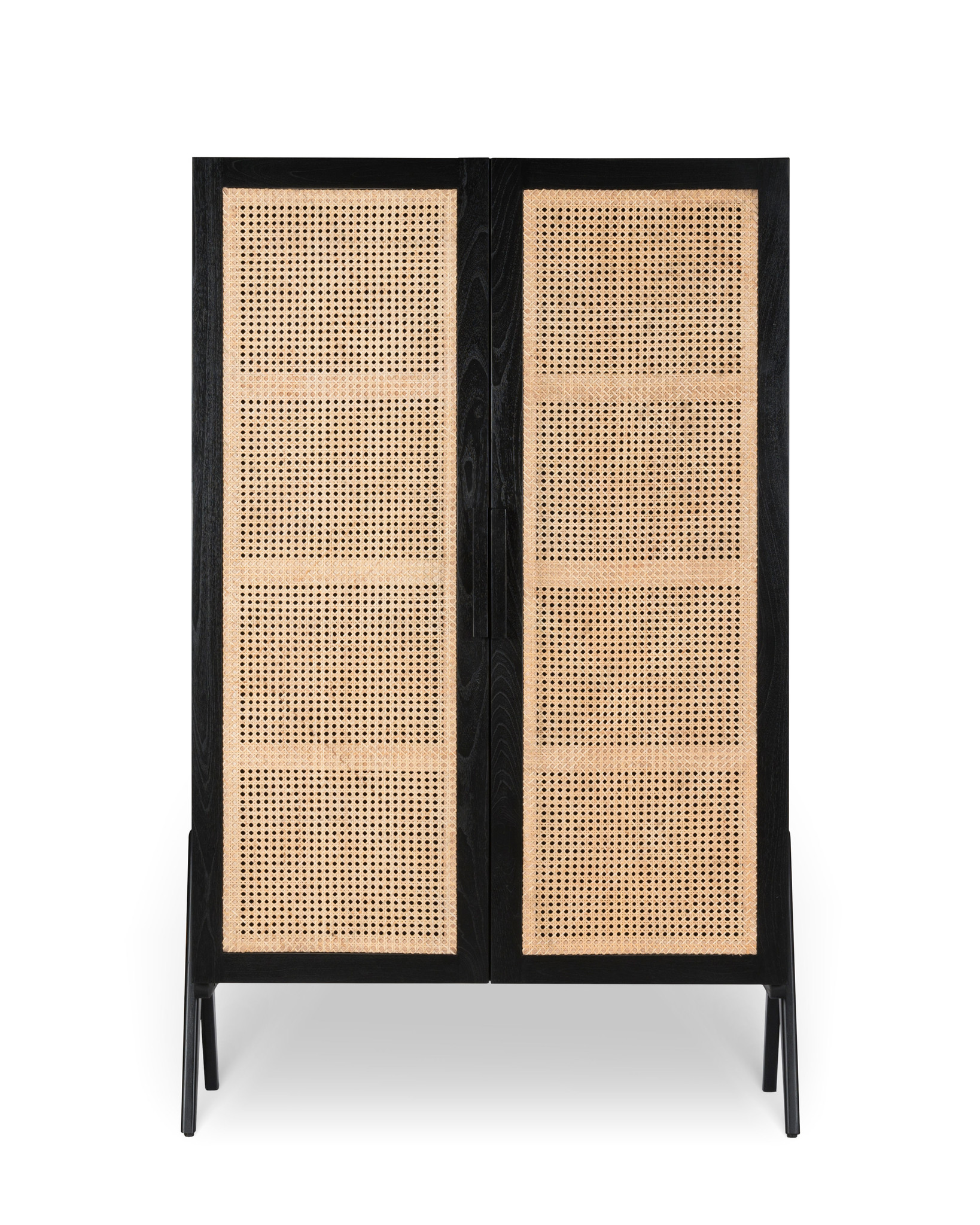Storage Cabinet - Charcoal Black-1