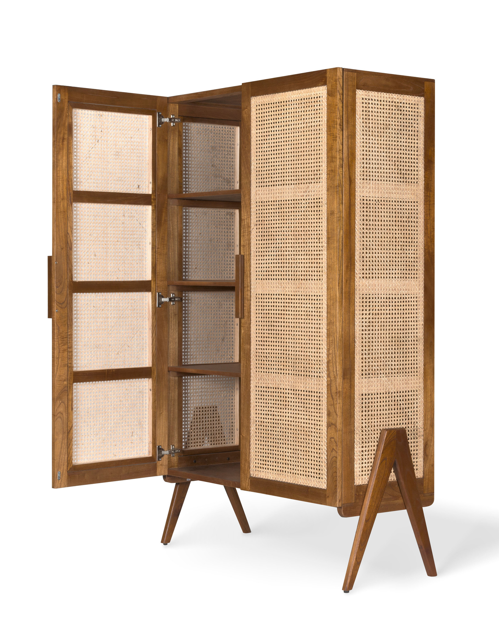 Storage Cabinet - Darkened Teak-3