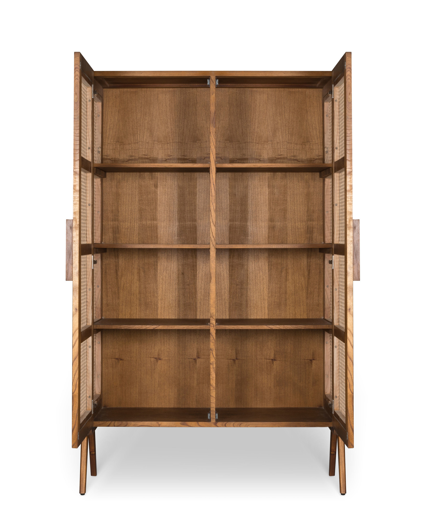 Storage Cabinet - Darkened Teak-5