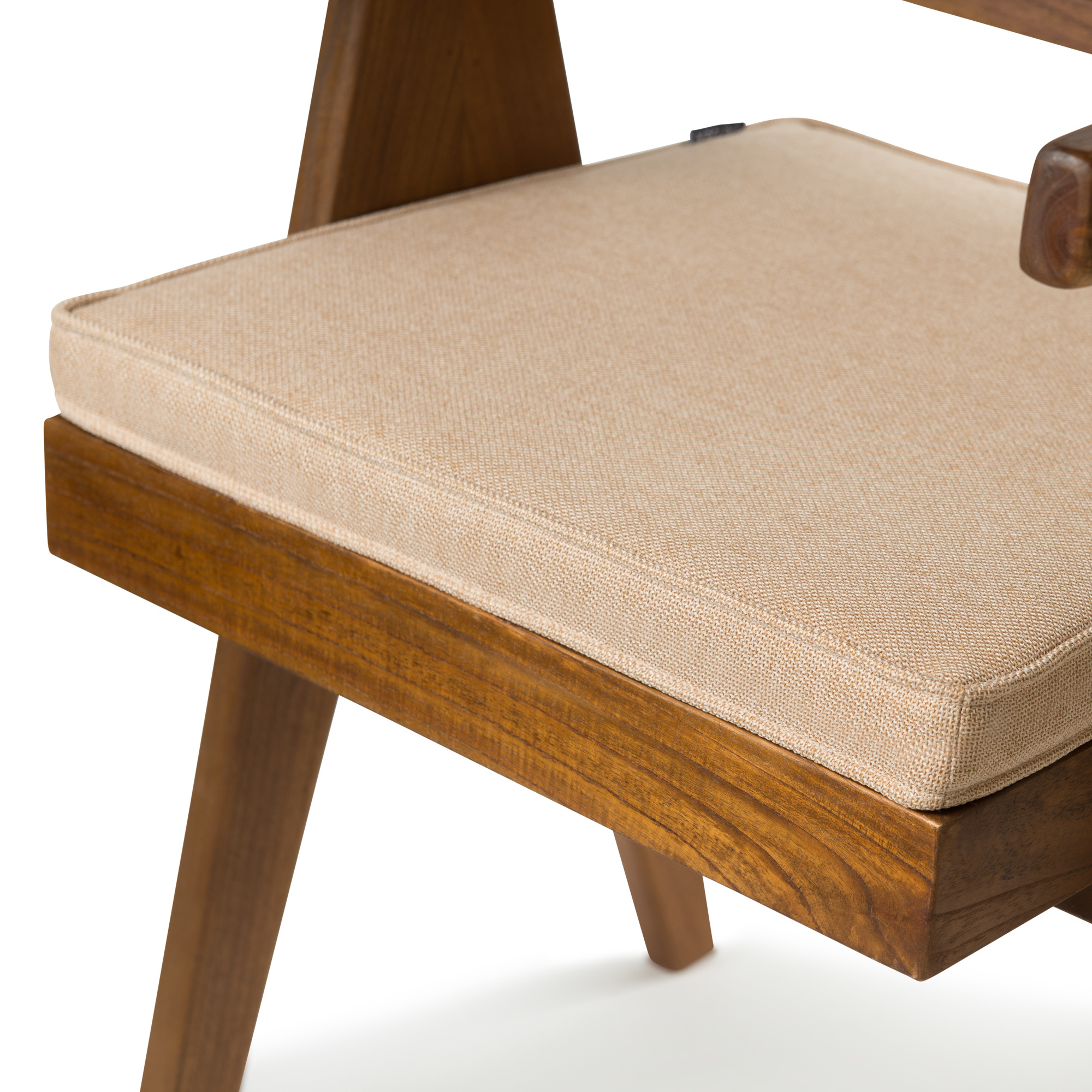 Office Chair Cushion - Light Brown-4