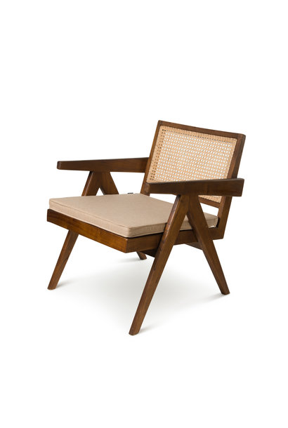 Easy Lounge Chair Kissen - Light Brown