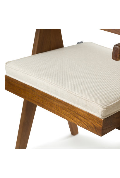 Easy Lounge Chair Cushion - Creme