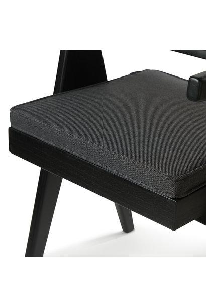 Kangaroo Cushion  Creme Antracite