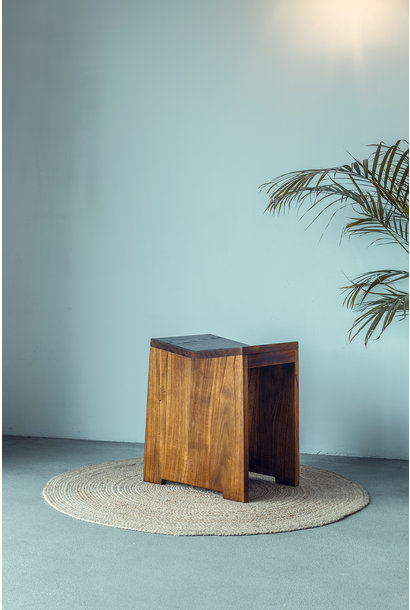 Stool / J.T.H. Flats Darkened Teak