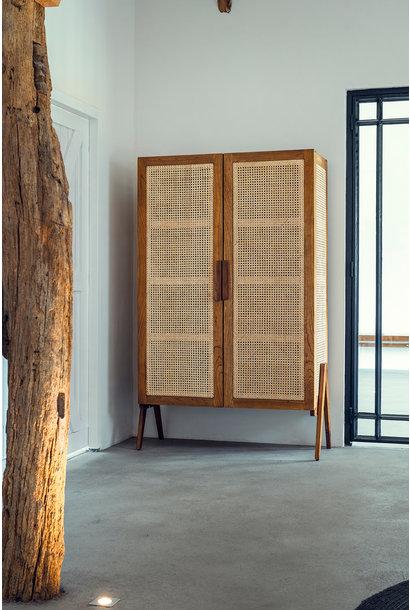Storage Cabinet - Verdunkeltes Teakholz