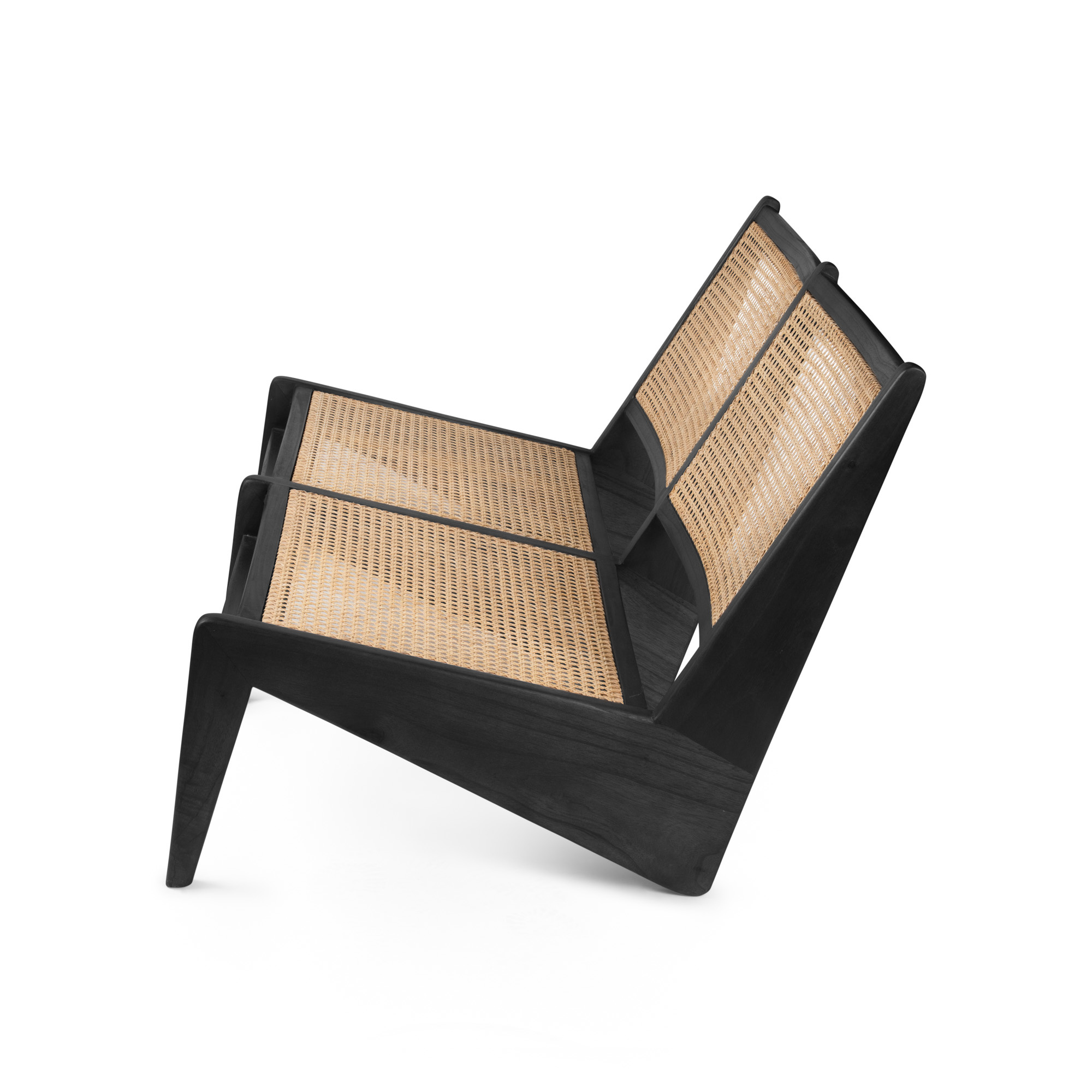 Kangaroo Chair Bench 2 - Charcoal Black-3