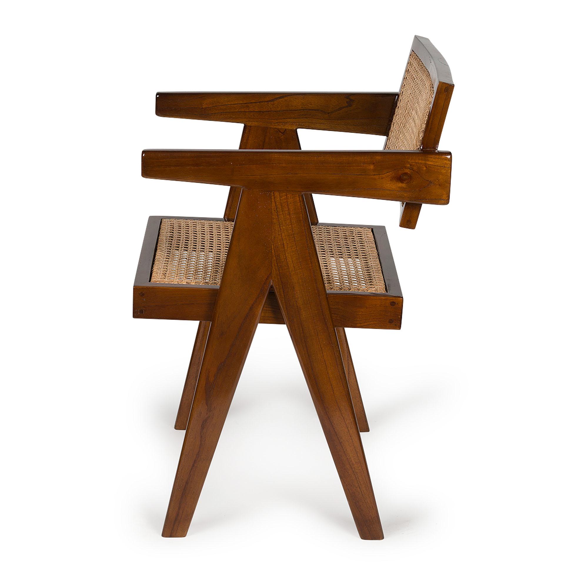 Office Chair-  Darkened Teak High Gloss-2
