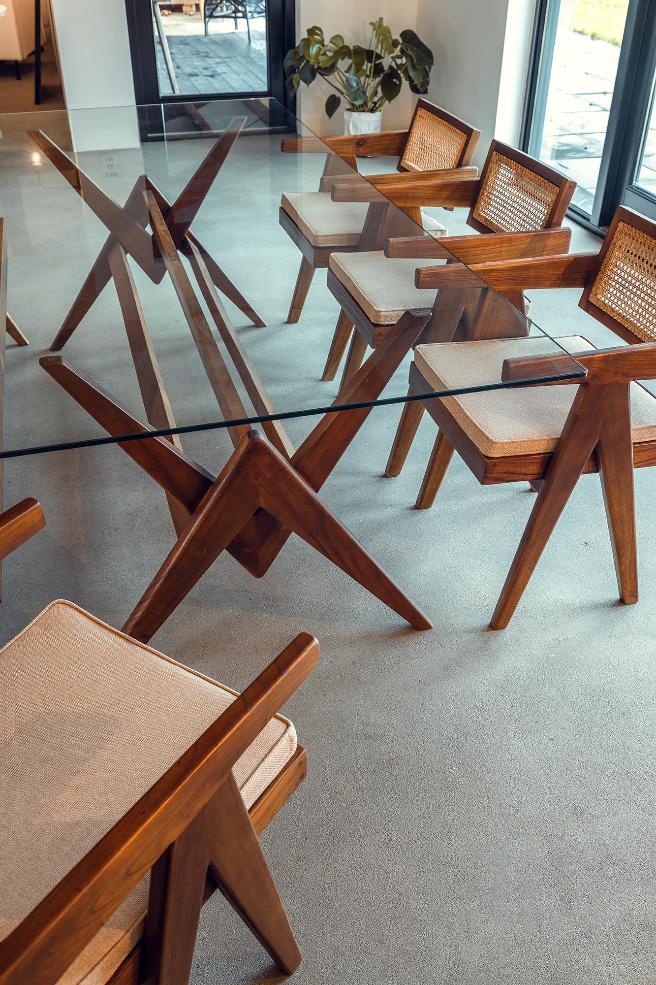 Dining Chair - Darkened Teak-5