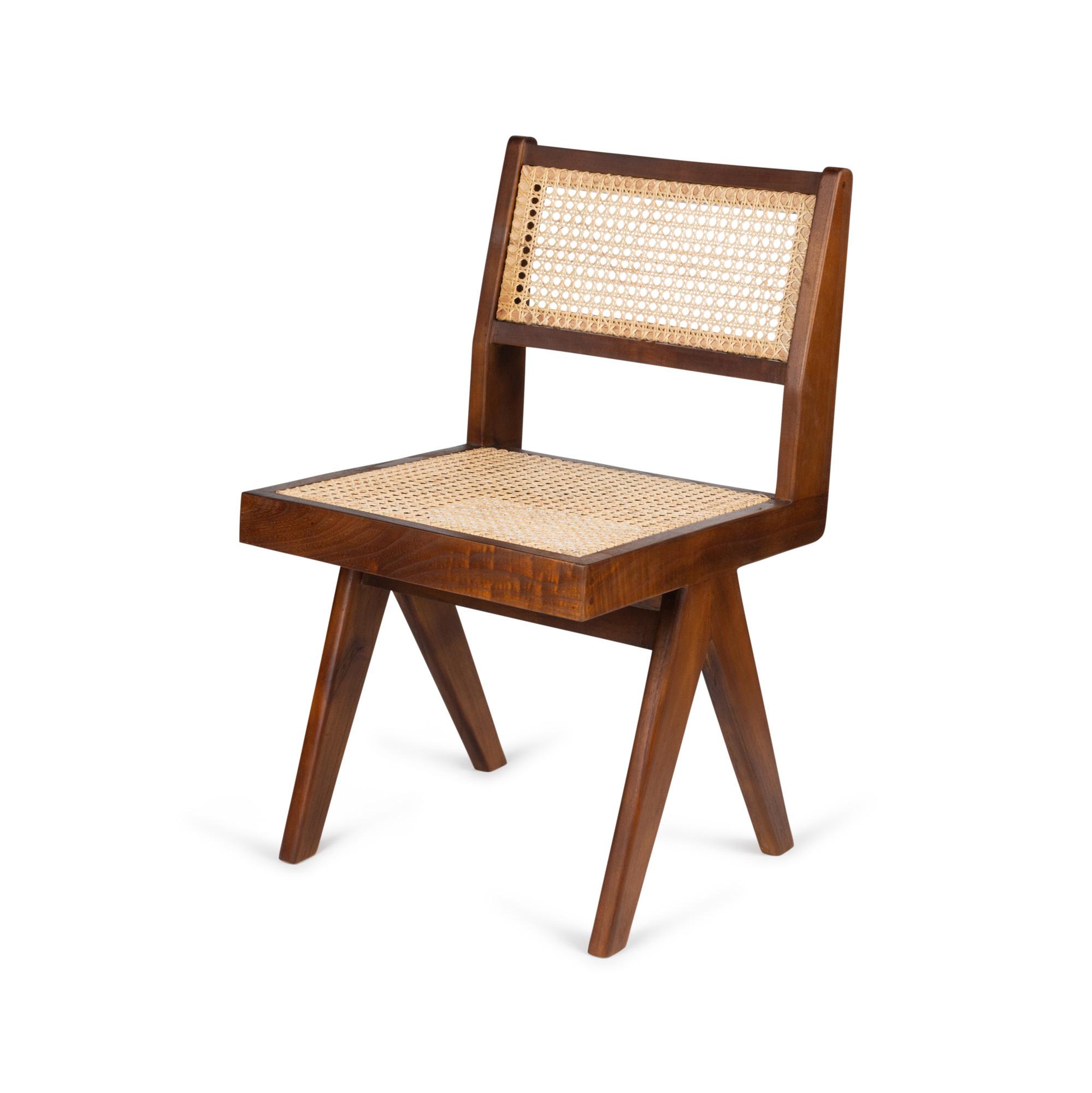 Dining Chair - Darkened Teak-1