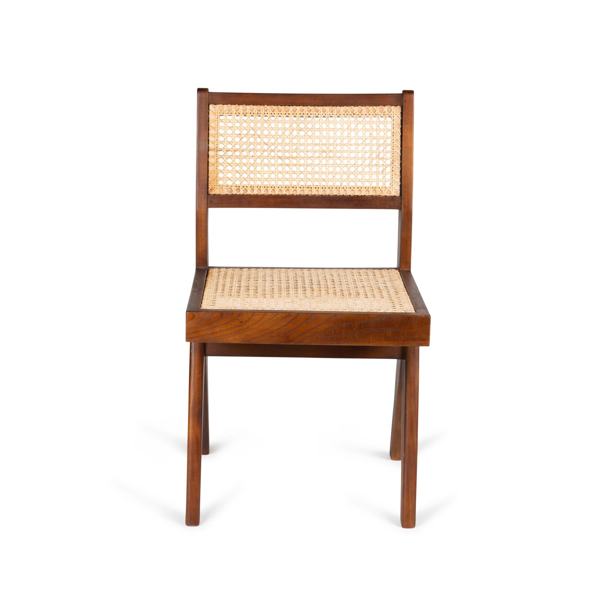 Dining Chair - Darkened Teak-2