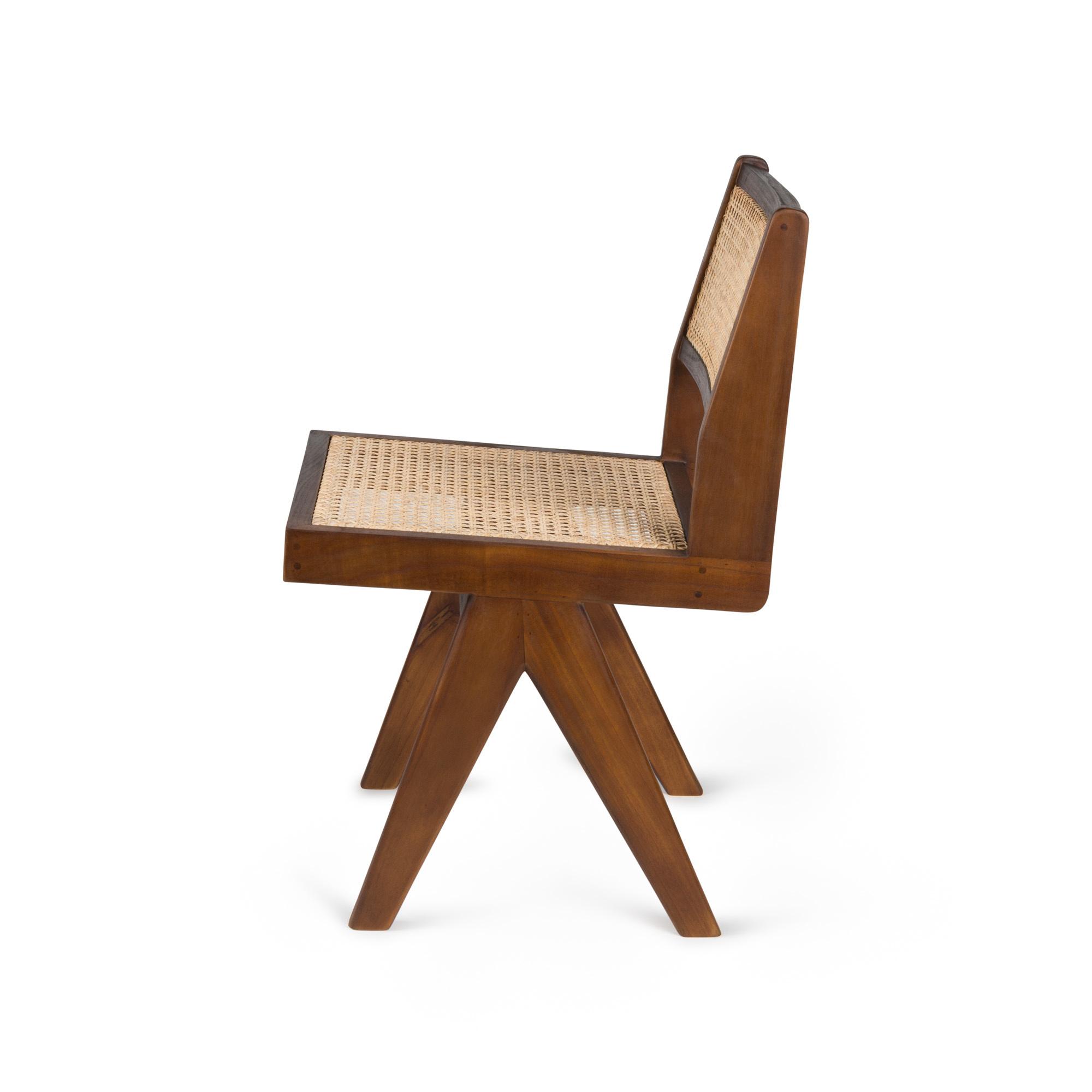 Dining Chair - Darkened Teak-3