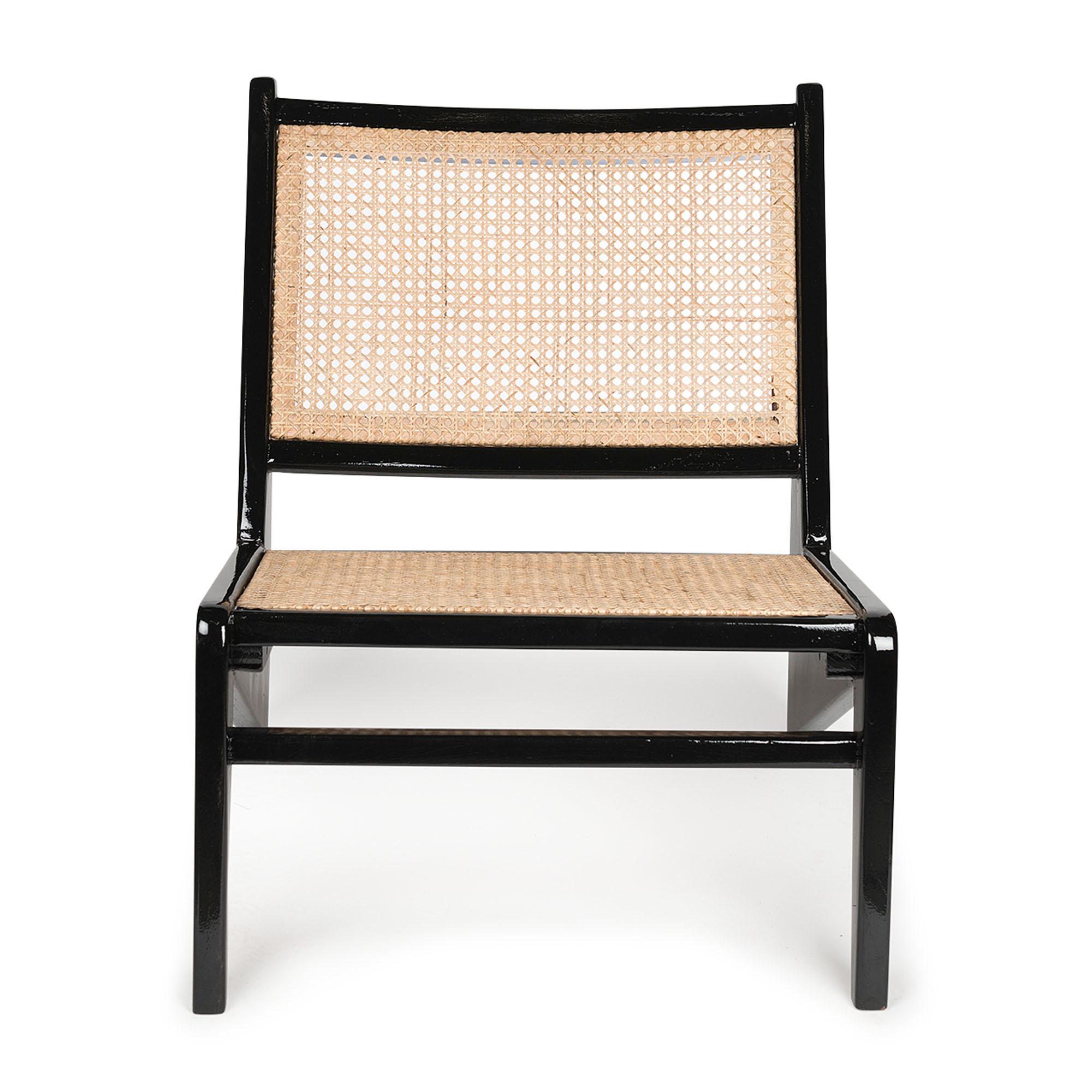 Kangaroo Chair - Charcoal Black Hoogglans-2