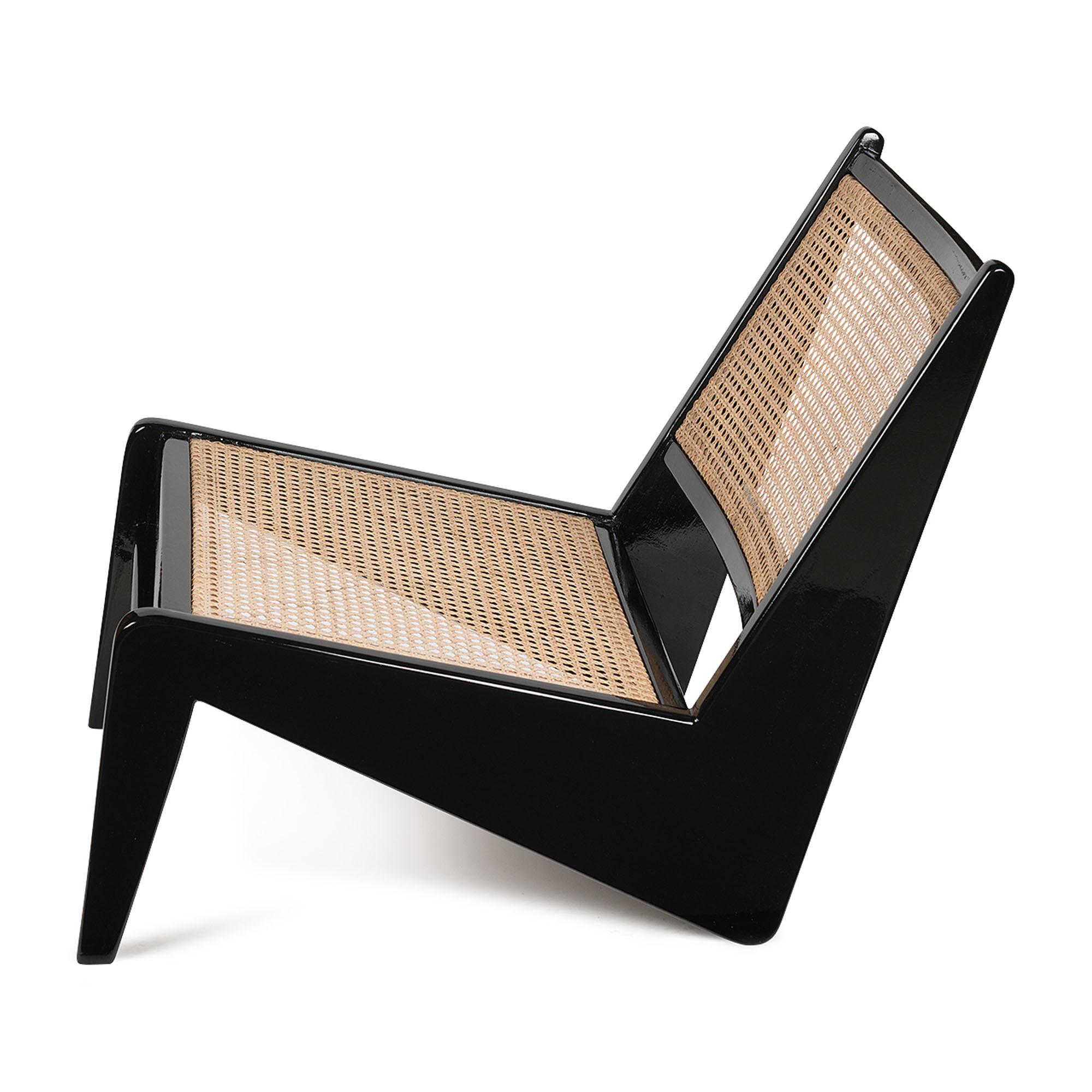 Kangaroo Chair - Charcoal Black Hoogglans-3